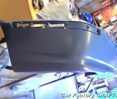 3シリーズ クォーターパネルの板金/バンパーの交換