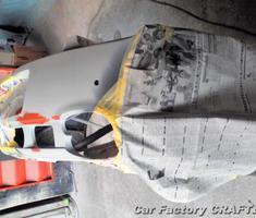 コンチネンタル リアバンパーの補修