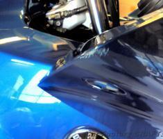 K1200RS アッパー/サイドカウル、ミラーのキズ補修