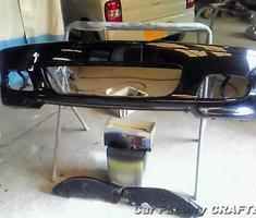 Mシリーズ 純正バンパー/フロントリップの部分補修