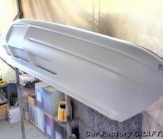 アストロ バンパーの塗装剥がれ補修、塗装