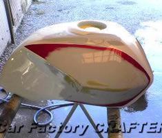 CB400SF 純正タンクの補修 ※参考価格表示