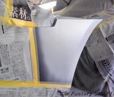 カマロ クォーターパネル/バンパーの補修、塗装