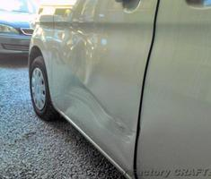 タント 左ドアまわりの板金/フロントバンパー修正