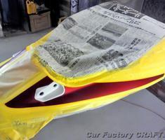 CB1300SF タンク/シート/ビキニカウルのキズ補修