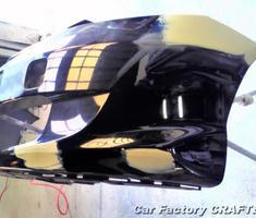 フィット フロントバンパー/フロントフェンダーの補修