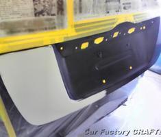 インサイト リアハッチの部分修正/塗装