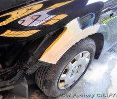 ストリーム フロントフェンダー左右の板金、塗装