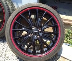 BMWミニ ホイール塗装