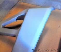 バリオス ラジエターガードのキズ補修、塗装
