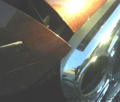 アルトラパン 右フロントフェンダー/ボンネットの修理