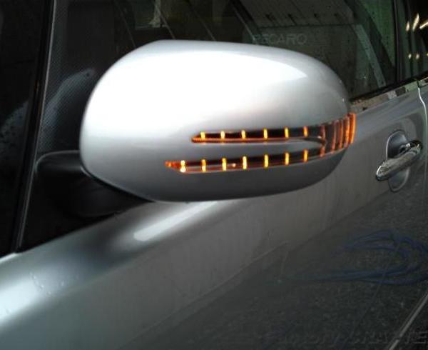 オデッセイ オリジナルミラーウインカー製作