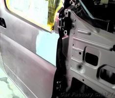 エルグランド ドア/フェンダーの塗装/ミラー交換