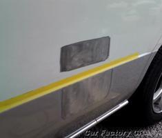 セレナ フェンダー/前後ドア/ミラー取付部の補修