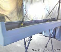 セレナ フロントバンパー/サイドステップのエアロ取付