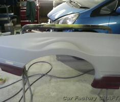 RX-7 バンパー修正/ワイドフェンダーキット加工