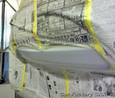 キザシ リアバンパーの補修/塗装