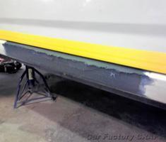 アレックス ロッカパネルの修正、塗装