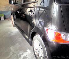 bB フロントバンパー/フェンダー/ドアの修正、塗装
