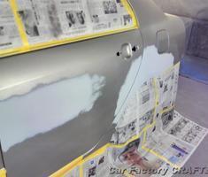 カローラ リアフェンダー/ドアの板金塗装