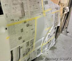 ヴォクシー フロントドアの修正/フェンダーの補修