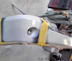 ヴォクシー リアクォーターパネル/バンパーの補修