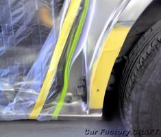 ヴォクシー スライドドア/フェンダー部の板金、塗装