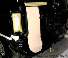 ヴォクシー ゲート/バンパーの板金、塗装
