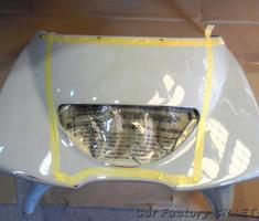 TZ250 レーサーレプリカ塗装
