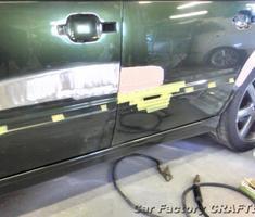 850R 前後ドア/リアフェンダーの修正
