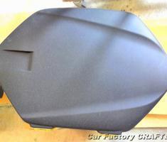 FJR1300 純正サイドケースの補修、塗装