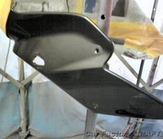 FZ1 カウル/タンク/フレームのキズ補修