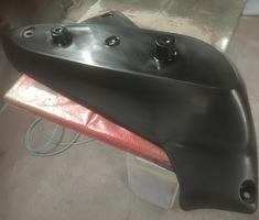 バイクパーツ結晶塗装のサムネイル